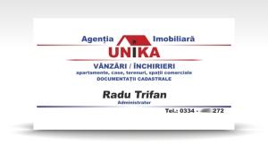 carte de vizita UNIKA