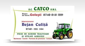 carte de vizita CATCO srl