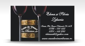 carte de vizita casa de vinuri Bucium