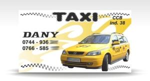 carte de vizita taxi CCB