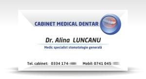 carte de vizita stomatologie