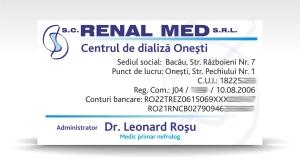 carte de vizita RENAL MED