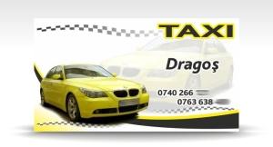 carte de vizita taxi