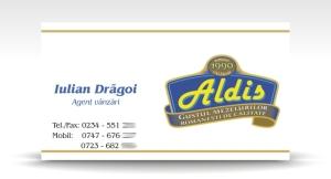 carte de vizita ALDIS